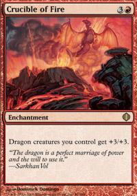 Crucible of Fire Magic Card