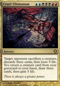 Cruel Ultimatum Magic Card