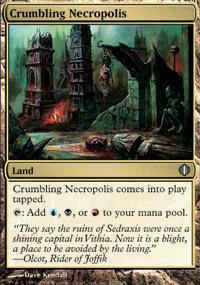 Crumbling Necropolis Magic Card