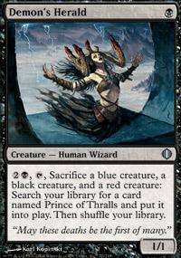 Demon's Herald Magic Card