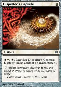 Dispeller's Capsule Magic Card