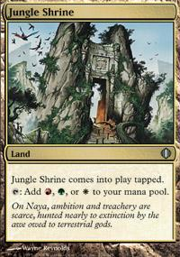 Jungle Shrine Magic Card