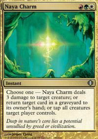 Naya Charm Magic Card