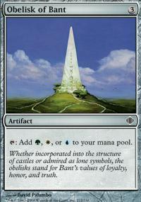 Obelisk of Bant Magic Card