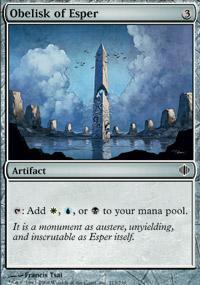 Obelisk of Esper Magic Card