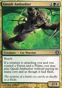 Qasali Ambusher Magic Card