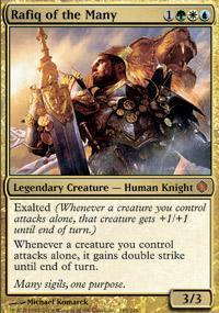 Rafiq of the Many Magic Card
