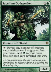 Sacellum Godspeaker Magic Card