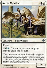 Aerie Mystics Magic Card