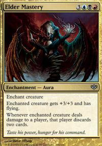 Elder Mastery Magic Card