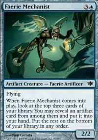 Faerie Mechanist Magic Card