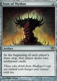 Font of Mythos Magic Card