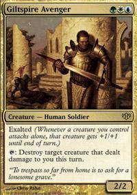 Giltspire Avenger Magic Card