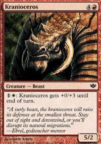 Kranioceros Magic Card