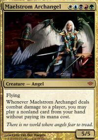 Maelstrom Archangel Magic Card