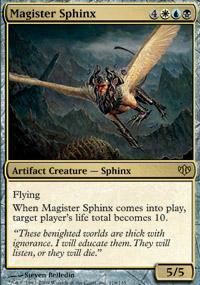 Magister Sphinx Magic Card