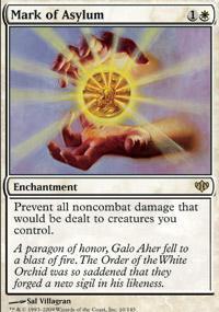 Mark of Asylum Magic Card
