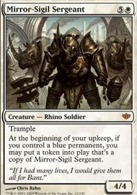 Mirror-Sigil Sergeant Magic Card