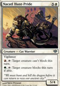 Nacatl Hunt-Pride Magic Card