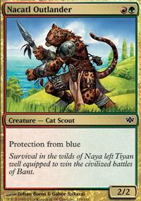Nacatl Outlander Magic Card