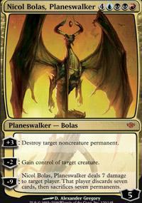 Nicol Bolas, Planeswalker Magic Card