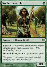 Noble Hierarch Magic Card