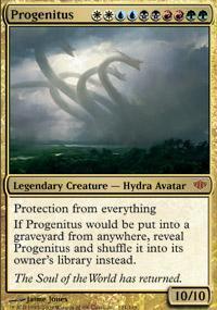 Progenitus Magic Card