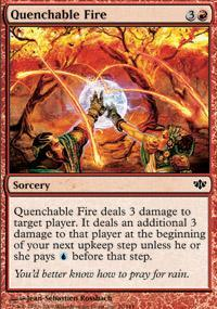 Quenchable Fire Magic Card