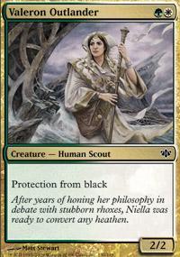 Valeron Outlander Magic Card