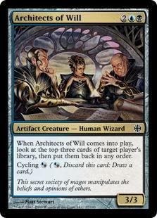 Architects of Will Magic Card