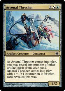 Arsenal Thresher Magic Card