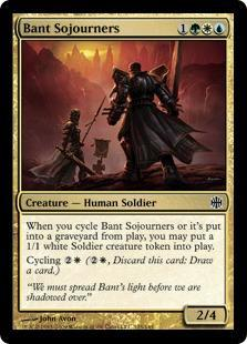 Bant Sojourners Magic Card