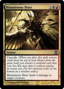 Bituminous Blast Magic Card