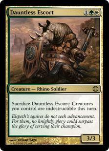 Dauntless Escort Magic Card