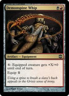 Demonspine Whip Magic Card