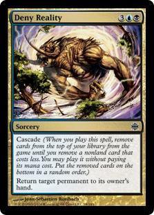 Deny Reality Magic Card