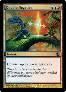 Double Negative Magic Card