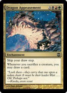 Dragon Appeasement Magic Card
