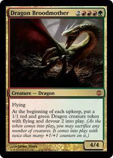 Dragon Broodmother Magic Card