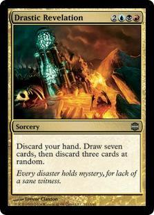 Drastic Revelation Magic Card