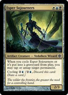 Esper Sojourners Magic Card