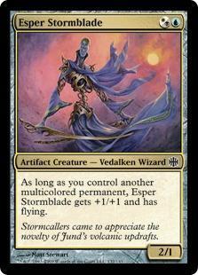 Esper Stormblade Magic Card