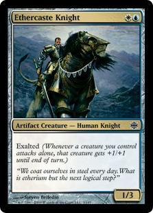 Ethercaste Knight Magic Card