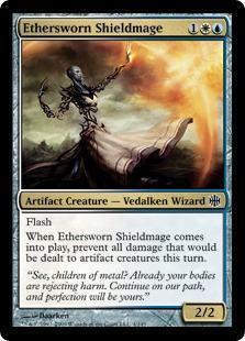 Ethersworn Shieldmage Magic Card
