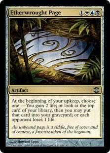 Etherwrought Page Magic Card