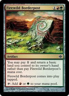 Firewild Borderpost Magic Card