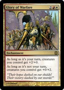 Glory of Warfare Magic Card