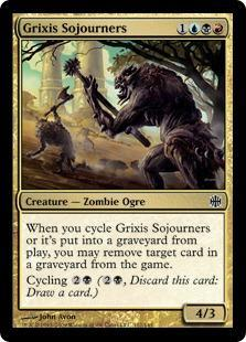 Grixis Sojourners Magic Card