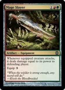 Mage Slayer Magic Card