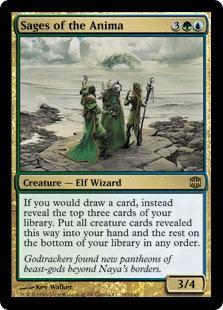 Sages of the Anima Magic Card